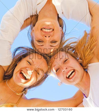 Sporty Happy Friendly Women