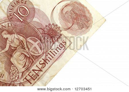Ten shilling note