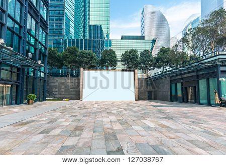 modern office building area,shanghai china.