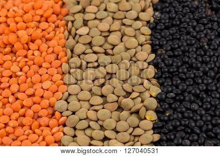 Mix Of Lentils