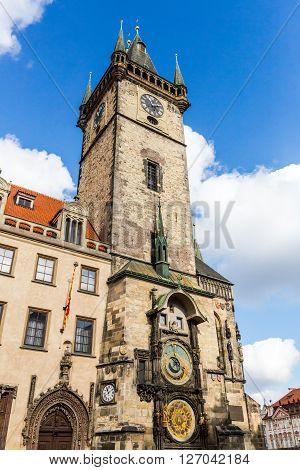 Exterior Views Of Buildings In Prague