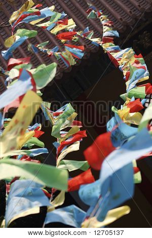 chinese prayer flags