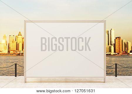Blank Banner Observation Ground
