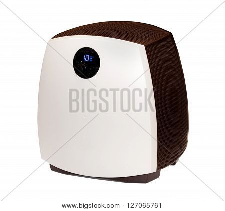 Modern humidifier isolated on the white background