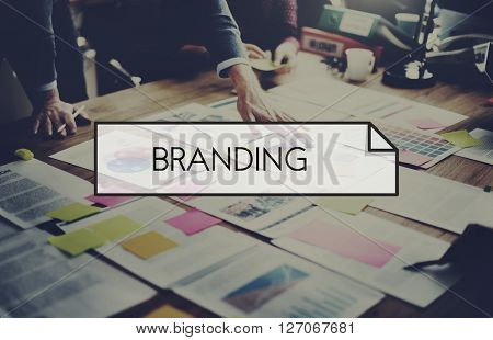 Brand Branding Advertising Commercial Marketing Concept
