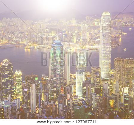 City Scape Buildings Urban Scene Concept