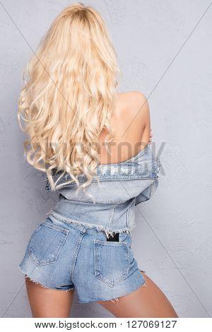Backside Of Sexy Girl.