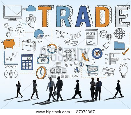 Trade Trading Commerce Deal Exchange Swap Concept