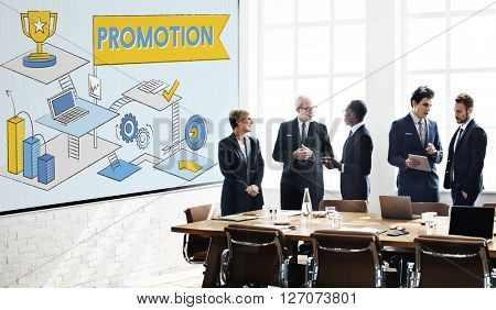 Promotion Marketing Advertising Branding Sale Concept
