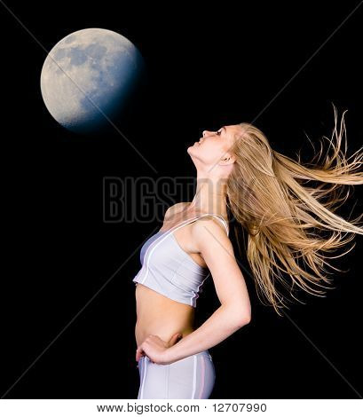 In the Shadow of the Moon she danced in the starlight...