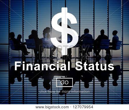 Financial Status Budget Credit Debt Planning Concept