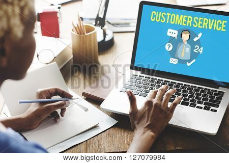 Customer Service Satisfaction Assistance Support Concept