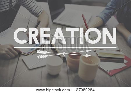 Creation Create Ideas Creativity Imagination Invention Concept