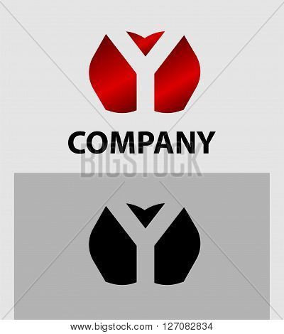 Letter Y. Letter Y logo icon design template elements