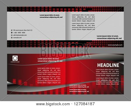 modern brochure design. Vector Brochure Layout Design Template