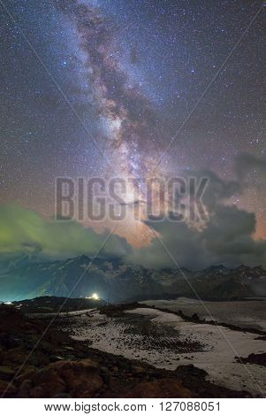 Milky Way from Mount Elbrus
