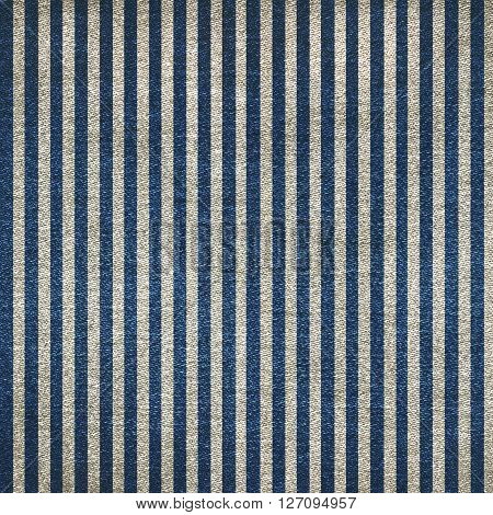 the two color a striped denim background