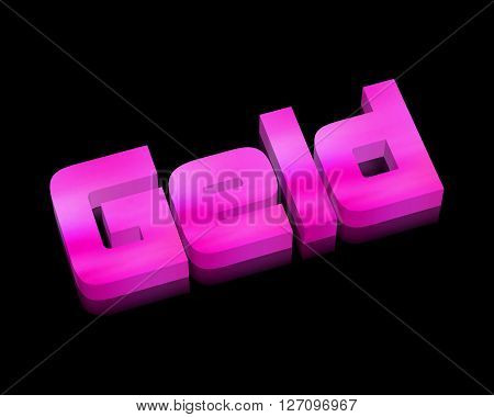 Geld / Money - 3d word with reflection !