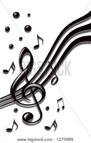 Notas de música