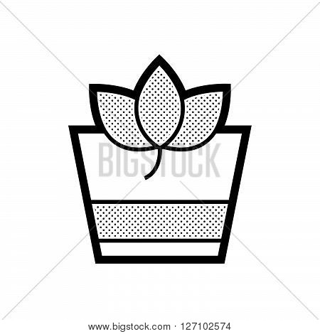 Herbal Drink icon support vector design  eps 10.