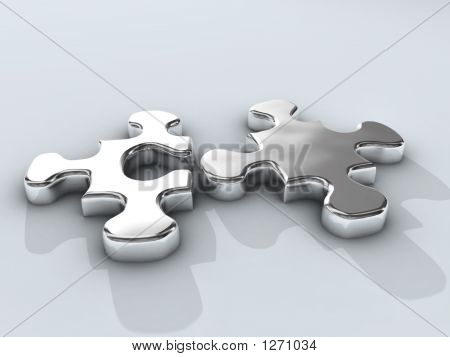 Quebra-cabeça de cromo