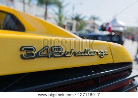 Ferrari 458 Challenge Logo