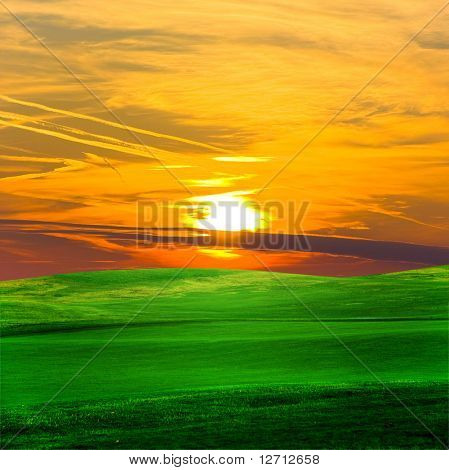 Sun Rising in Glory