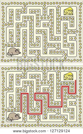 Easy Mouse Maze