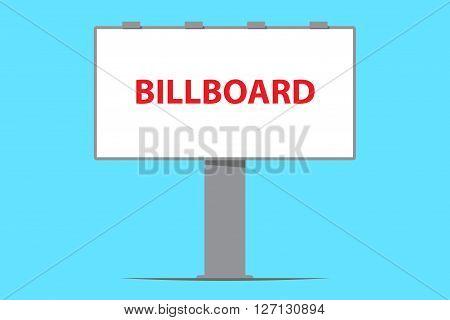 billboard board outdoor advertising vector illustration outdor building