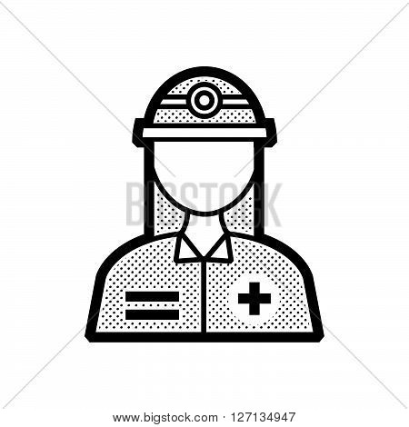 Rescuers Medical avatar icon design support vector design  eps 10.