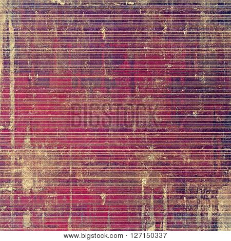 Vintage background - dirty ancient texture. Antique grunge backdrop with different color patterns: yellow (beige); brown; gray; purple (violet); pink
