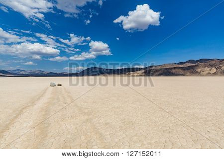 Racetrack In The Death Valley National Park
