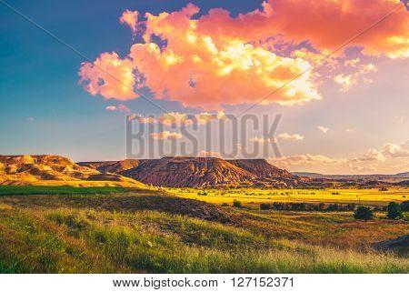 Spectacular rocks formations in Turkey