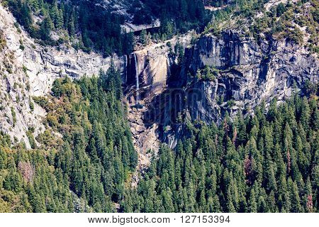 View of the Yosemite National Park California