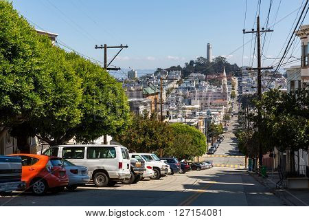 San Francisco, California - September 17, 2015