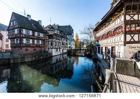 Colmar, France - November 5, 2015