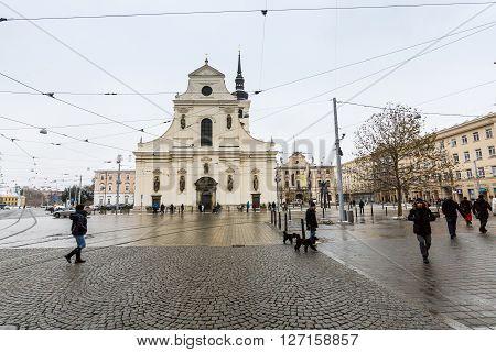 Brno, Czech Republic - January 7, 2015
