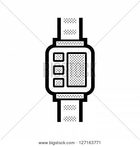 Medical Device Icon Diabetes Watch vector design EPS10.