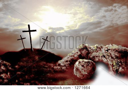 Crucifixion And Resurrection 4