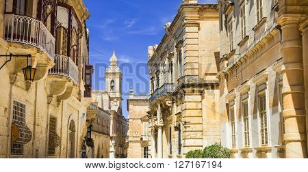 ancient Mdina,popular attraction in Malta