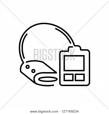 Medical Device Icon Check pressure line icon