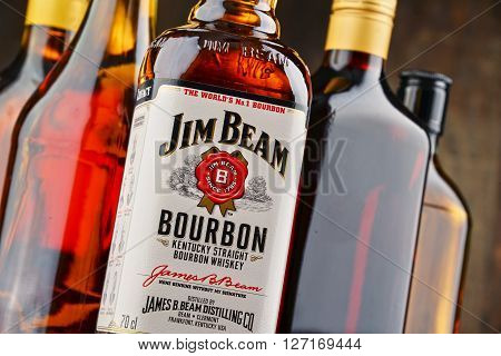 Bottle Of Jim Beam Bourbon