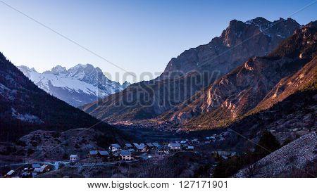 Valley Of Vigneaux, Hautes-alpes, France
