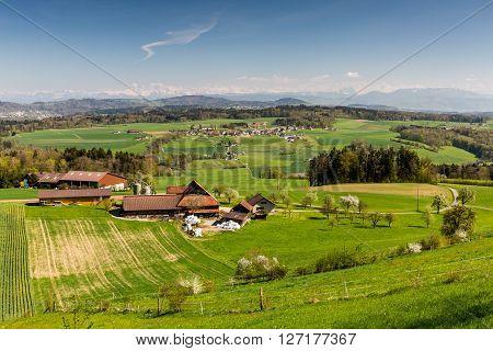 View To Uetliberg, Near Zurich