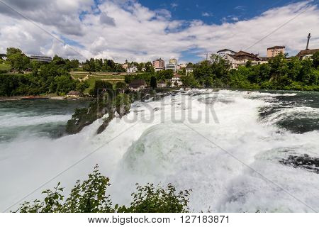 View To The Biggest Waterfalls Of Europe