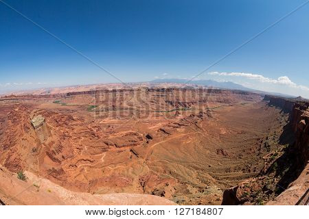 Anticline overlook Canyonlands National Park in Utah
