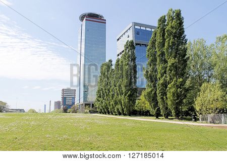 modern architecture in Brescia in northern Italy ** Note: Soft Focus at 100%, best at smaller sizes