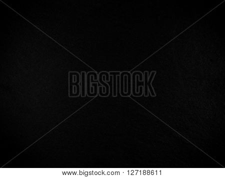 Dark black natural slate board texture for background