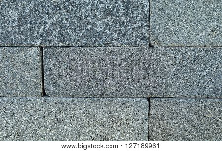 Background Pattern Horizontal Slate Stone Wall Background or Texture.