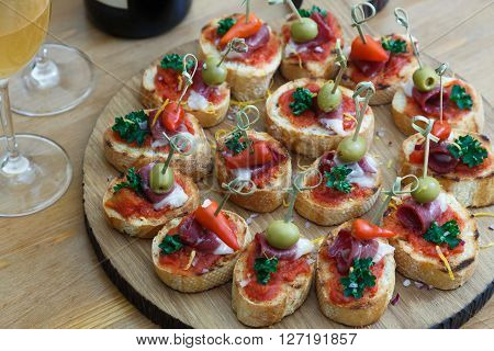 pintxos tapas spanish canapes party finger food